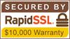 RapidSSL256 bit